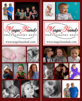 Magic Hands Photography 2m Tall Promotional Banners