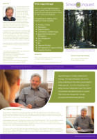Simon Conquest Hypnotherapy Solutions Tri-Fold Leaflet