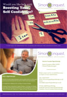 Simon Conquest Hypnotherapy Solutions Double Sided Postcard