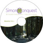 Simon Conquest Hypnotherapy Solutions CD Label
