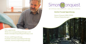 Simon Conquest Hypnotherapy Solutions CD Cover